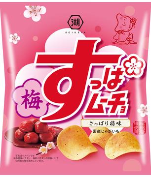Kokeiya Super Mucho Chips, Refreshing Plum