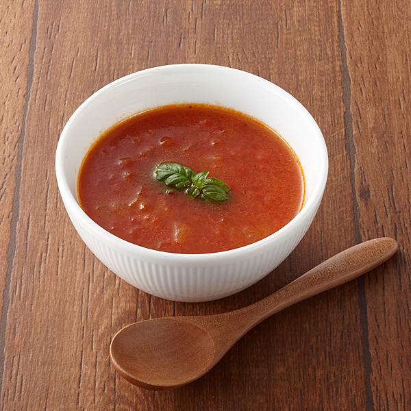Sea and Earth Deli Tomato Soup stock photo