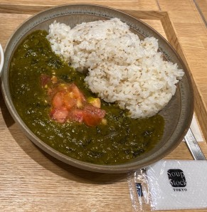 Soup Stock Tokyo Palak (Spinach Curry)
