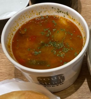 Soup Stock Tokyo Sweet Corn and Bell Pepper Chili