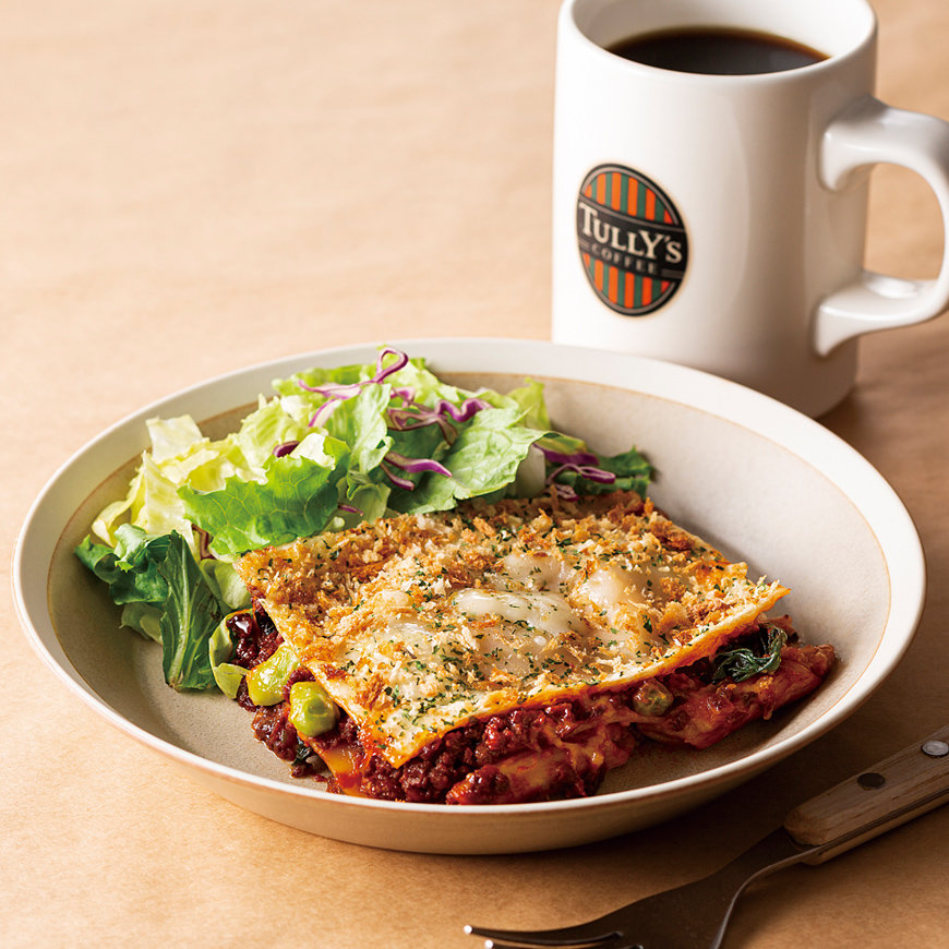 Tully's Plant-based Lasagna Plate
